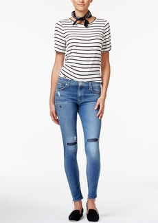 Hudson Jeans Nico Ripped Skinny Jeans