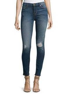 Hudson Jeans Hudson Nico Skinny-Fit Distressed Jeans