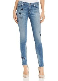 Hudson Nico Star-Detail Ankle Skinny Jeans in Stargazing