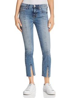 Hudson Nico Straight Slit-Hem Jeans in Moxie