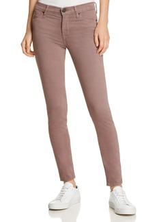 Hudson Nico Super-Skinny Jeans in Umber