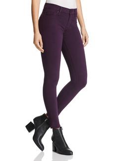 Hudson Nico Super-Skinny Jeans in Velvet Plum