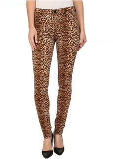 Hudson Nico Super Skinny Mid Rise Jeans in Lynx