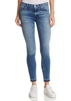 Hudson Nico Super Skinny Released Hem Jeans in Instant Crush