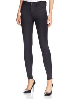 Hudson Nico Supermodel Length Skinny Jeans in Black