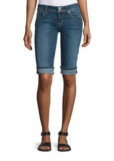 Hudson Palerme Denim Knee Shorts