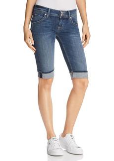 Hudson Jeans Hudson Palerme Denim Shorts in Alabaster Dazed