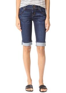 Hudson Jeans Hudson Palerme Knee Cuffed Shorts