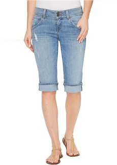 Hudson Jeans Hudson Palerme Knee Shorts in Withdrawn