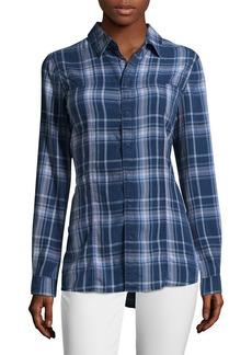 Hudson Jeans Hudson Pant Britt Plaid Button-Front Shirt