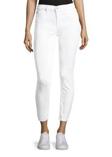 Hudson Jeans Hudson Raw-Hem Skinny Jeans