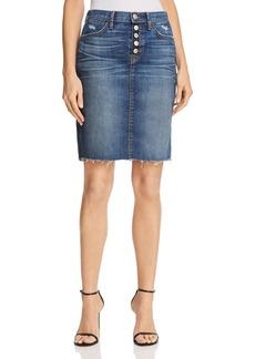 Hudson Jeans Hudson Remi Denim Pencil Skirt in Confessions