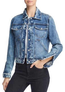 Hudson Jeans Hudson Ren Denim Trucker Jacket in Prisma