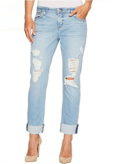 Hudson Riley Crop Relaxed Straight Raw Cuffed in Push N Shove