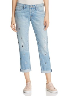 Hudson Riley Star Grommet Relaxed Jeans