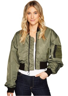 Hudson Jeans Rogue Cropped Bomber