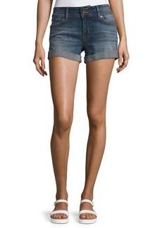 Hudson Jeans Hudson Ruby Rolled-Cuff Denim Shorts
