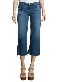 Hudson Jeans Hudson Sammi Flare-Leg Cropped Jeans  Stingray