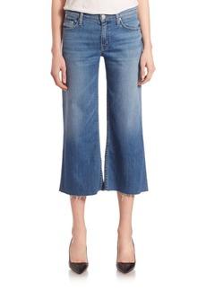 Hudson Sammi Wide-Leg Cropped Culottes