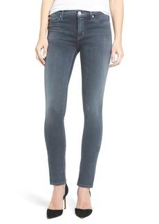 Hudson Shine Skinny Jeans (Dark Skies)