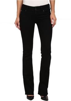 Hudson Signature Bootcut Jeans in Black Indigo