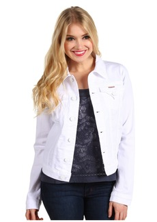 Hudson Signature Jean Jacket in White