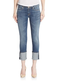 Hudson Jeans Muse Cropped Jeans