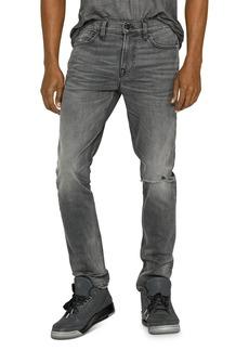 Hudson Jeans Hudson Skinny Fit Jeans in Grays