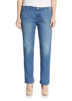 Hudson Slim Chino Jeans
