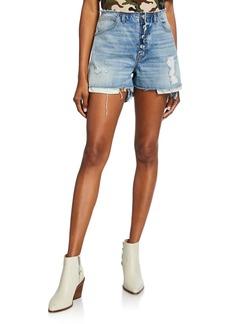 Hudson Jeans Hudson Sloane Frayed Cutoff Shorts