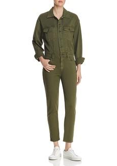 Hudson Jeans Hudson Sloane Long-Sleeve Utility Jumpsuit