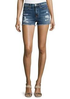 Hudson Jeans Hudson Soko High-Rise Cutoff Jean Shorts
