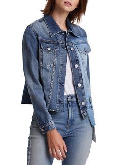 Hudson Jeans Hudson Spliced Denim Trucker Jacket