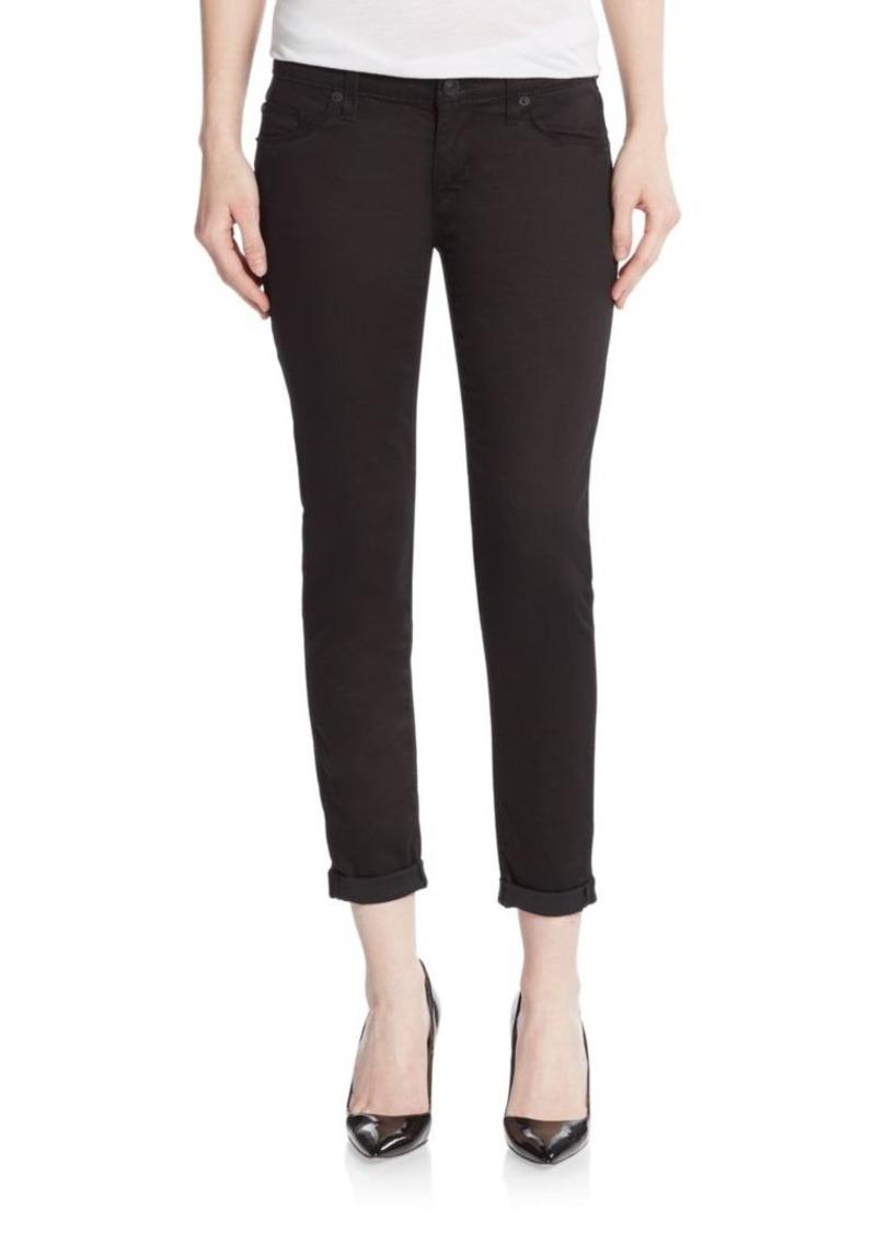 Hudson Jeans Hudson Super Skinny Cropped Jeans