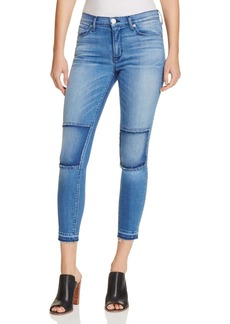 Hudson Suzzi Ankle Knee Panel Jeans in Sector - 100% Exclusive