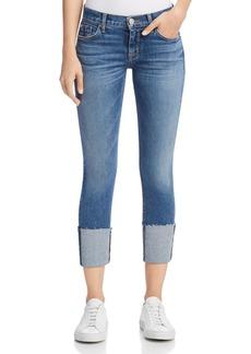 Hudson Tally Crop Deep Cuff Jeans in Impala