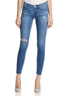 Hudson Tally Crop Skinny Jeans in Encounter