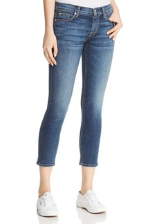 Hudson Tally Crop Skinny Jeans in Unfamed
