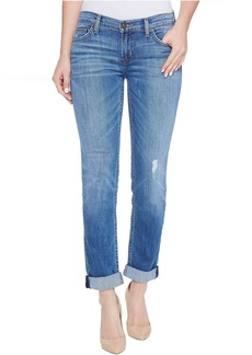 Hudson Tally Cropped Skinny Five-Pocket Jeans in Intruder