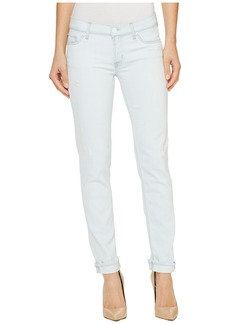 Hudson Tally Cropped Skinny Five-Pocket Jeans in Lightweight
