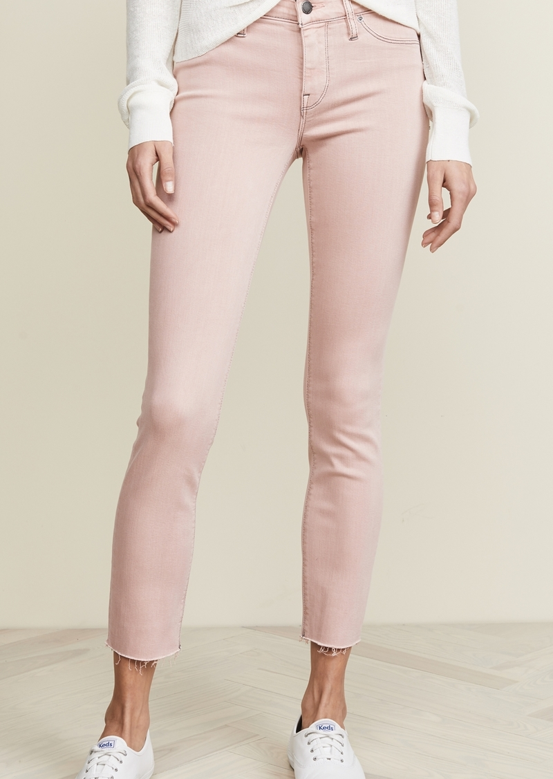 Hudson Jeans Hudson Tally Mid Rise Crop Jeans