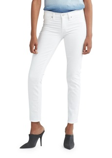 Hudson Jeans Hudson Tally Mid-Rise Crop Skinny Jeans