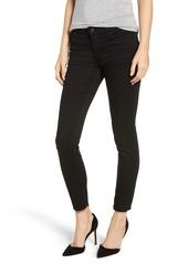 Hudson Jeans Hudson Tally Raw Hem Crop Skinny Jeans