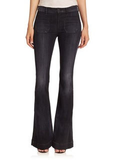 Hudson Taylor High-Rise Flared Jeans
