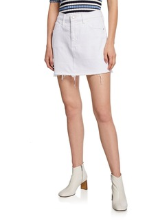 Hudson Jeans Hudson The Viper Frayed Mini Skirt