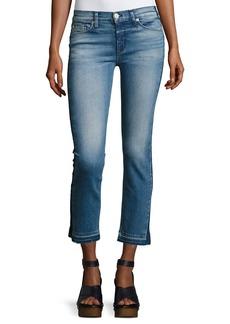 Hudson Tilda Mid-Rise Cigarette Crop Jeans