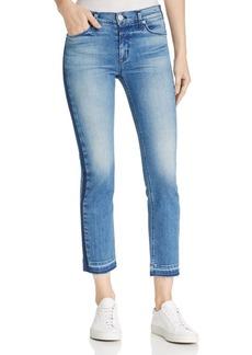 Hudson Tilda Skinny Crop Jeans in Impulse
