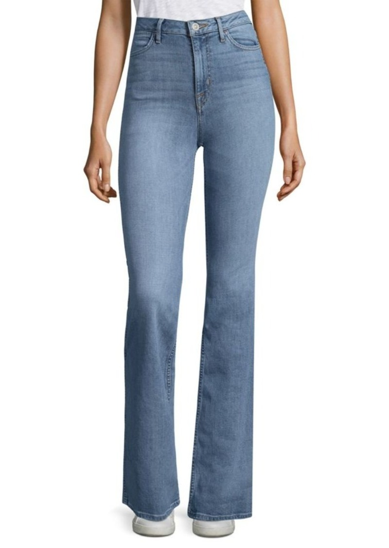 Hudson Jeans Tom Cat High-Rise Flared Jeans