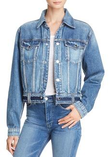 Hudson Jeans Hudson Triple Waistband Denim Jacket in Temple