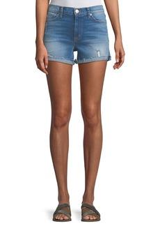 Hudson Jeans Valeri Cuffed Denim Shorts